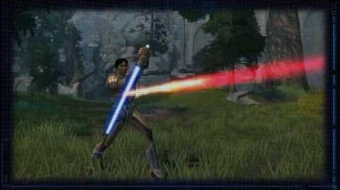 SWTOR Jedi Tactics - Lightaber Throw