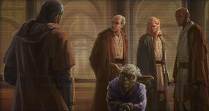 830px-Revan Jedi Council