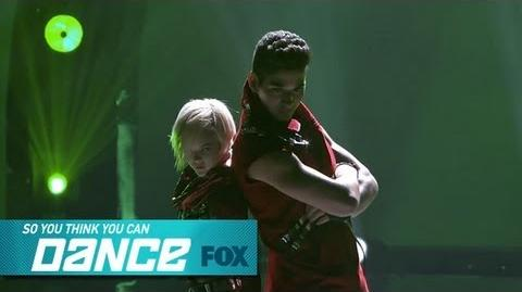 Malece & Alan Top 16 Perform SO YOU THINK YOU CAN DANCE FOX BROADCASTING-0