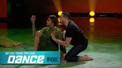 Jasmine H & Aaron Top 14 Perform SO YOU THINK YOU CAN DANCE FOX BROADCASTING