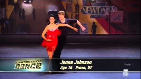 Jenna Johnson Audition So You Think You Can Dance Season 10