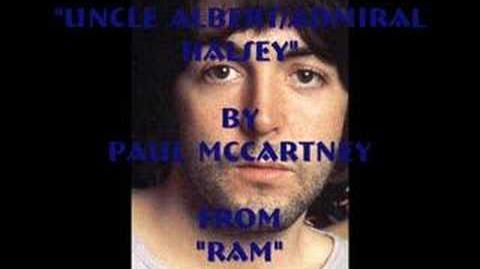 Paul McCartney:Uncle Albert/Admiral Halsey