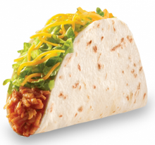 Taco Bell Chicken Soft Taco 829394