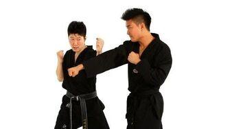 How to Do the Inside Block Technique Taekwondo Training