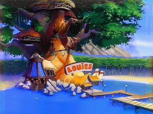 Louie 39 s place talespin wiki fandom powered by wikia for Sally s fish house bar