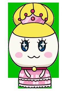 Princess tamako anime art