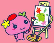 Violetchi painting
