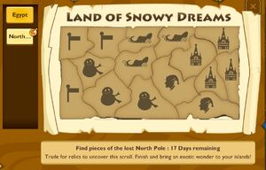 Land of snowy dreams