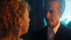 """Hello Sweetie!"" River Song Meets The Twelfth Doctor - Doctor Who The Husbands Of River Song - BBC"