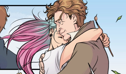 File:Eighth Doctor issue 1 Doctor and Josie.jpg