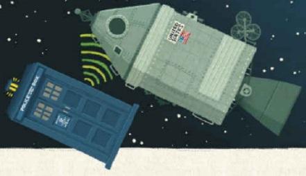 Twelve Doctors of Christmas Apollo 8 TARDIS contact