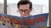 The Doctor hides behind Beano (TROA)