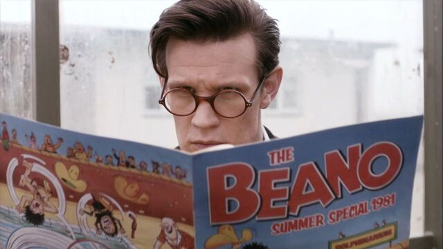 File:The Doctor hides behind Beano (TROA).jpg