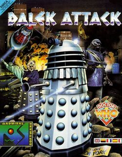 Dalek Attack cover