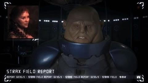 Strax Field Report Queen Elizabeth - Doctor Who The Day of the Doctor - BBC One