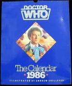 1986 Doctor Who Calendar