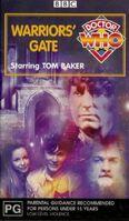 Warriors Gate VHS Australian cover