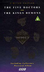 File:The Five Doctors & The King's Demons 1995 VHS UK.jpg