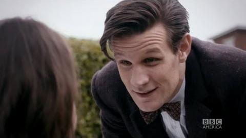 """DOCTOR WHO Origins of Clara """"The Rings of Akhaten"""" BBC AMERICA"""