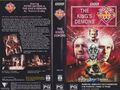 The King's Demons VHS Australian folded out cover