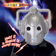CO Voice Changer Cyberman Helmet