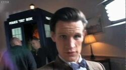Matt Smith in the White House - Doctor Who - BBC One
