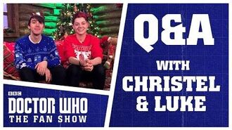 Q&A With Christel Dee & Luke Spillane - Doctor Who The Fan Show