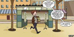 The Doctor Buys Comic Comic Stand
