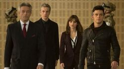 DOCTOR WHO Exclusive Inside Look at Time Heist The Doctor & Clara Go Ocean's Eleven - BBC AMERICA