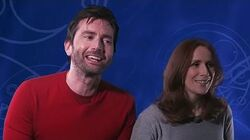 David Tennant and Catherine Tate Reunited! - Doctor Who Tenth Doctor Audio Adventures