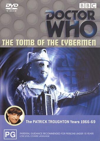 File:The Tomb of the Cybermen DVD Australian cover.jpg