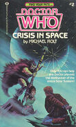 Crisis in space US cover