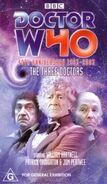 The Three Doctors 40thanniv VHS Australian cover
