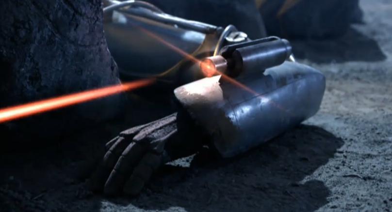 Cyberman arm blaster