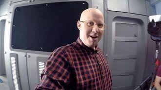 Matt Lucas Set Tour - The Return of Doctor Mysterio - Doctor Who