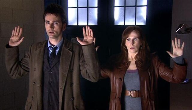File:The Doctor and Donna DW Stolen Earth.jpg