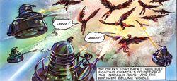 The Dalek World Invisible Invaders Daleks vs Birds