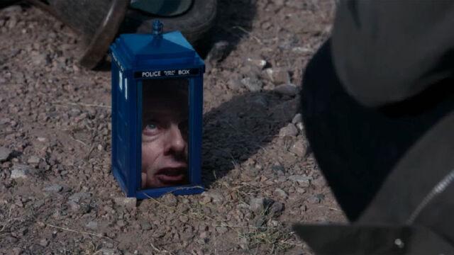 File:Twelfth Doctor in the shrunken TARDIS.jpeg
