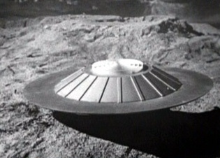 Cyberman flying saucer