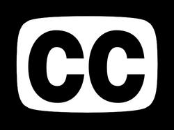 Closed captioning symbol