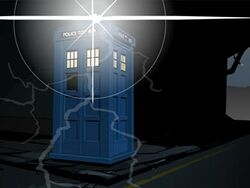 Shalka TARDIS