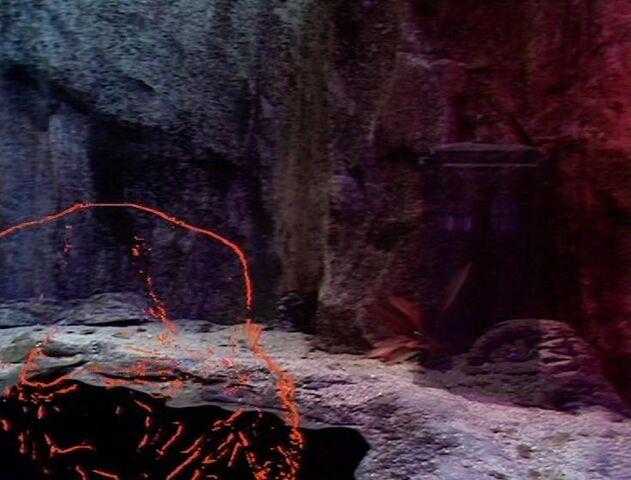 File:Creature and TARDIS.jpg