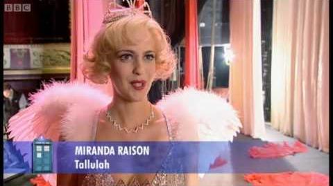 Meet Tallulah - Doctor Who Confidential - BBC