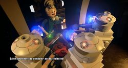 The Doctor is captured by Daleks (Lego Dimensions)
