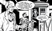 Fifth Doctor in Moon Village
