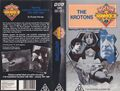 The Krotons VHS Australian folded out cover