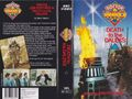 Death to the Daleks VHS Australian folded out cover