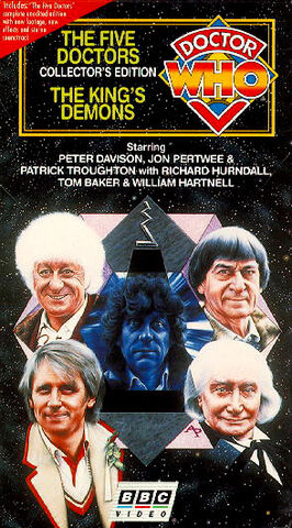 File:The Five Doctors & The King's Demons 1997 VHS US.jpg