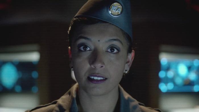 Indira eyes open