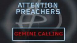 Tardisode 5 Attention Preachers Gemini Calling